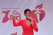Tamron Hall speaks onstage at The American Heart Association's Go Red For Women Red Dress Collection 2020 at Hammerstein Ballroom on February 05, 2020 in New York City.