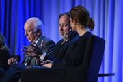New York Magazine Publisher Larry Burstein, Paul Rossi President of Global Media Business at The Economist Group and Managing Editor and News Anchor for Bloomberg Television Stephanie Ruhle speak onstage at the American Magazine Media Conference at Grand Hyatt New York on February 1, 2016 in New York City.