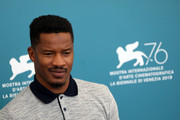 """Director Nate Parker attends """"American Skin"""" photocall during the 76th Venice Film Festival at Sala Grande on September 01, 2019 in Venice, Italy."""