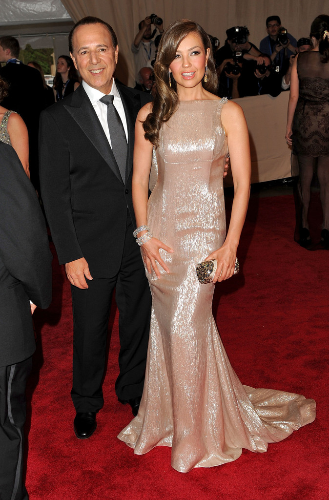 "Tommy Mottola Thalia Photos Photos - ""American Woman ..."