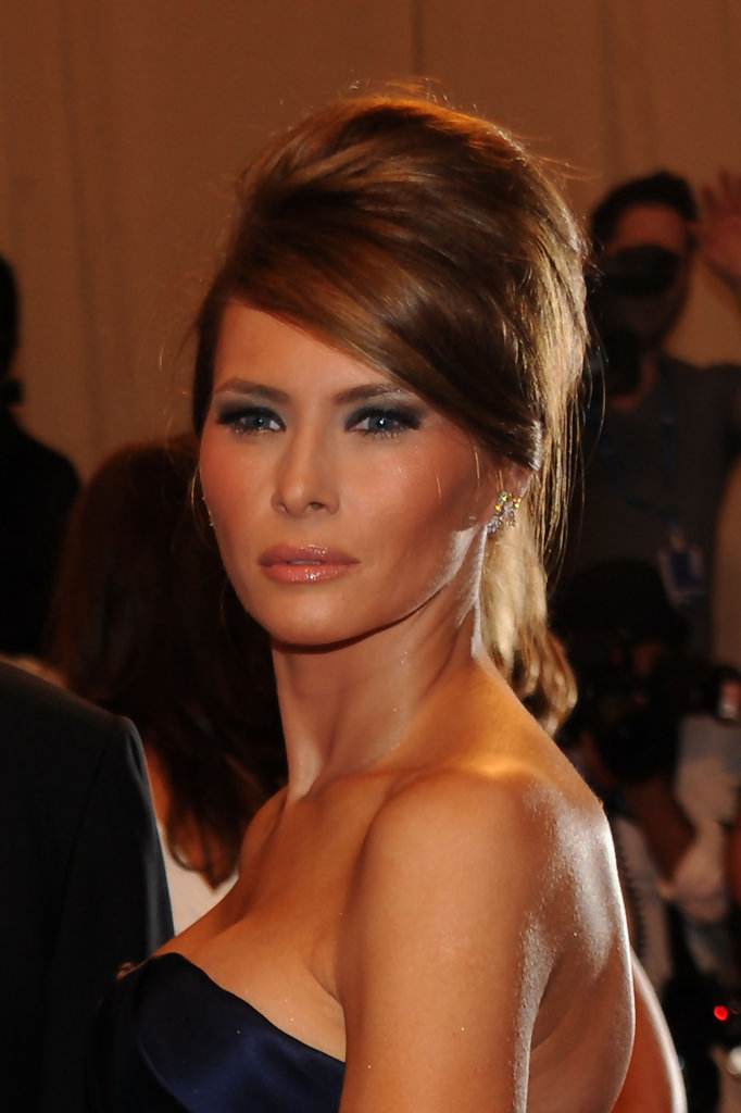 Melania Trump Photos Photos American Woman Fashioning A National Identity Met Gala