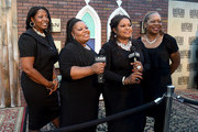 Alfreda, Deborah, Regina, and Ann McCrary of the McCrary Sisters attend the 14th annual Americana Music Association Honors and Awards Show at the Ryman Auditorium on September 16, 2015 in Nashville, Tennessee.