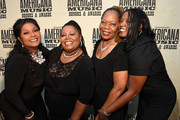 Regina, Deborah, Ann, and Alfreda McCrary of the McCrary Sisters attend the 14th annual Americana Music Association Honors and Awards Show at the Ryman Auditorium on September 16, 2015 in Nashville, Tennessee.