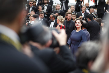 Amira Casar 'Amant Double (L'Amant Double')' Red Carpet Arrivals - The 70th Annual Cannes Film Festival