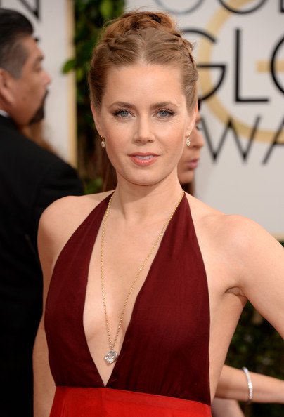 Amy Adams - 71st Annual Golden Globe Awards - Arrivals