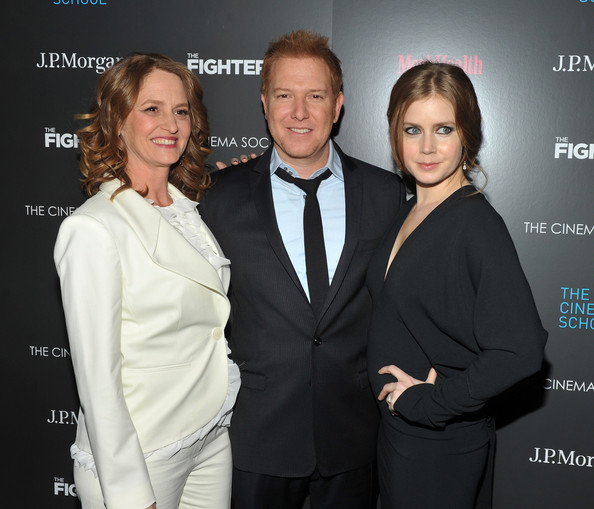 "The Cinema Society & Men's Health Host A Screening Of ""The Fighter"" To Benefit The Cinema School - Arrivals [cinema society mens health host a screening of ``the fighter to benefit the cinema school - arrivals,the fighter to benefit the cinema school,suit,event,premiere,formal wear,tuxedo,white-collar worker,smile,ryan kavanaugh,amy adams,melissa leo,screening,sva theater,new york city,cinema society mens health]"