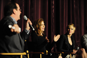 """Amy Adams Jennifer Lawrence SAG Foundation Presents A Conversations Q&A With """"American Hustle's"""" Amy Adams, Bradley Cooper, Jennifer Lawrence And director David O. Russell"""