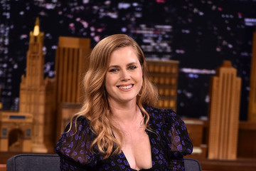 Amy Adams Amy Adams Visits 'The Tonight Show Starring Jimmy Fallon'