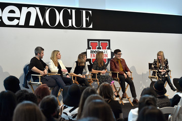 Amy Astley Andrew Bevan Teen Vogue's 10th Annual Fashion University