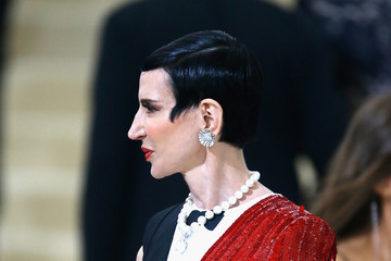 Amy Fine Collins 'Rei Kawakubo/Comme des Garcons: Art of the In-Between' Costume Institute Gala - Outside Arrivals