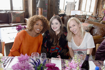 Amy Kaufman Glamour's Cindi Leive and Girlgaze's Amanda de Cadenet Host Lunch Celebrating Films Powered by Women During Sundance - 2017 Park City