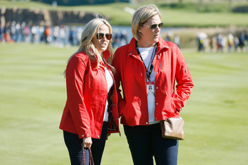 Amy Mickelson The Presidents Cup - Round Two