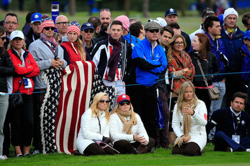 Amy Mickelson Afternoon Foursomes - 2014 Ryder Cup