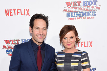 Amy Poehler Celebrities Attend the 'Wet Hot American Summer: First Day of Camp' Series Premiere