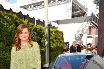 Amy Poehler Celebs Attend the Audi Event at the 68th Emmy Awards