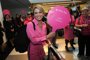 "Amy Robach ""Breast Cancer One"" Flight"