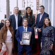 Ana Martinez Television Executive Peter Roth Honored With Star On The Hollywood Walk Of Fame