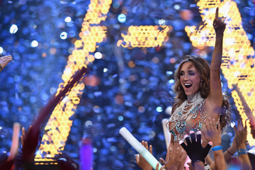 Anahi Celebrities Attend Univision's Premios Juventud 2015