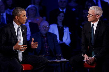 Anderson Cooper President Discusses Executive Action on Guns