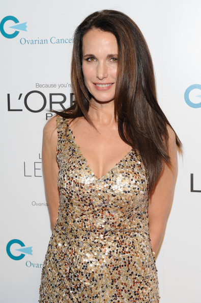Andie MacDowell ovarian cancer