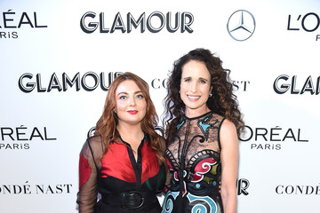 Andie MacDowell 2018 Glamour Women Of The Year Awards: Women Rise - Arrivals