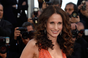 Andie MacDowell 'Inside Out' Premiere - The 68th Annual Cannes Film Festival