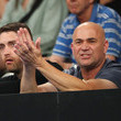 Andre Agassi 2019 Australian Open - Day 5