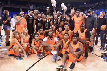 Andre Drummond Monster Energy Outbreak Presents $50K Charity Challenge Celebrity Basketball Game