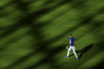 Andre Ethier World Series - Los Angeles Dodgers v Houston Astros - Game Four