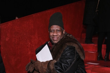 Andre Leon Talley Marc Jacobs - Front Row - Mercedes-Benz Fashion Week Fall 2015