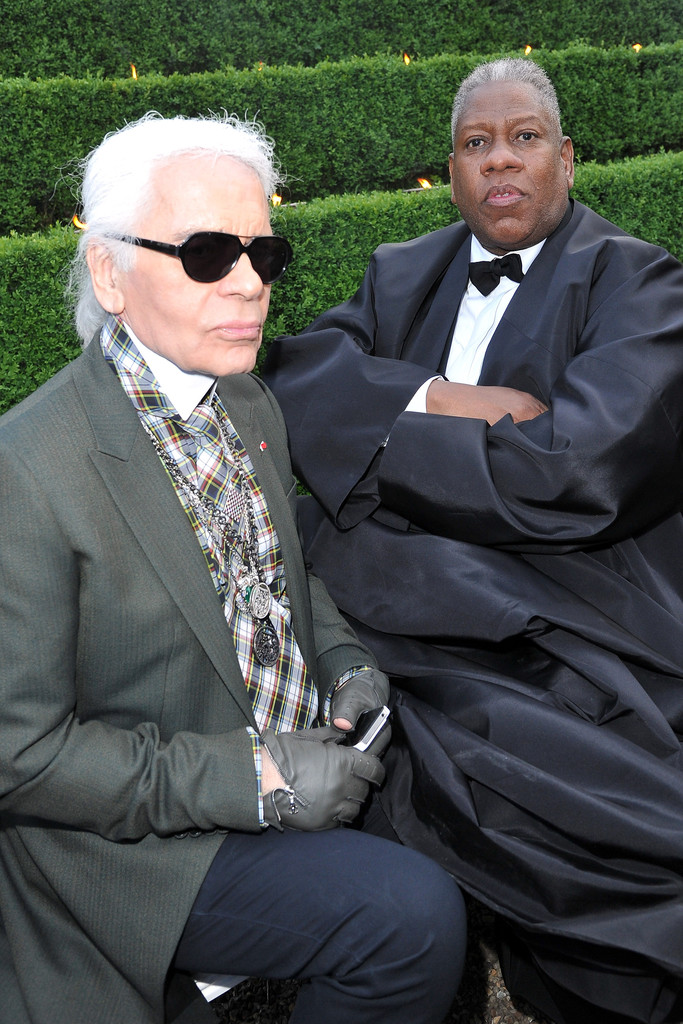 RUMOR: Andre Leon Talley Out at 'Vogue'