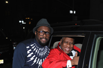 Andre Leon Talley Michael Kors and iTunes After Party at the Mark Hotel
