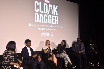 Andre Meadows Freeform And The NAACP Host A Screening For Marvel's 'Cloak & Dagger' - Inside