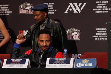 Andre Ward Ward-Kovalev 2: 'The Rematch' - Los Angeles Press Conference