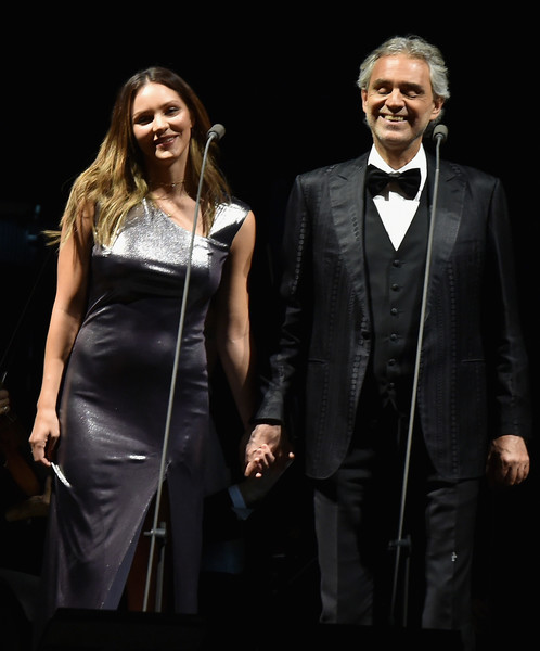 Andrea Bocelli Performs In Concert New York New York Zimbio