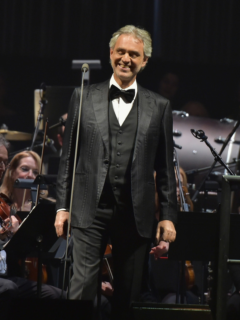 Andrea Bocelli Photos Photos Andrea Bocelli Performs In Concert New York New York Zimbio