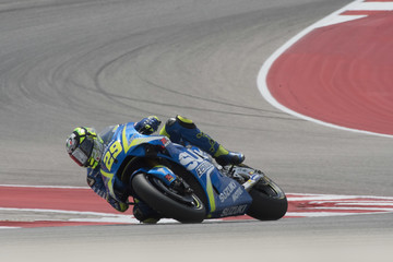Andrea Iannone MotoGp Red Bull U.S. Grand Prix of The Americas - Free Practice