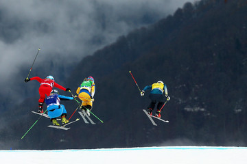 Andrea Limbacher Freestyle Skiing - Winter Olympics Day 14