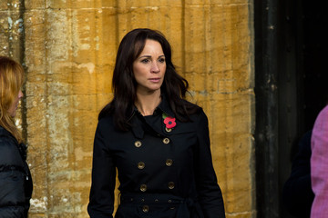 Andrea McLean Funeral Held for Lynda Bellingham