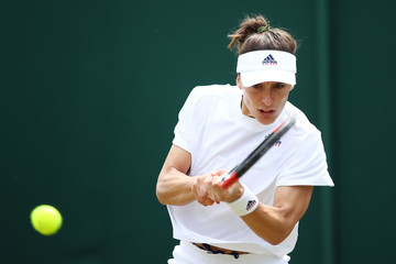 Andrea Petkovic Day Three: The Championships - Wimbledon 2018