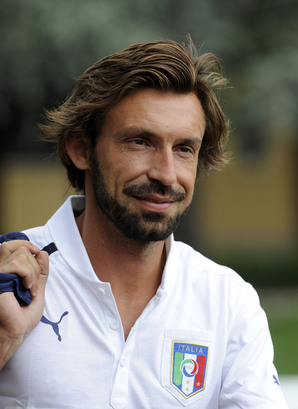 Andrea Pirlo - Italy Training Session & Press Conference
