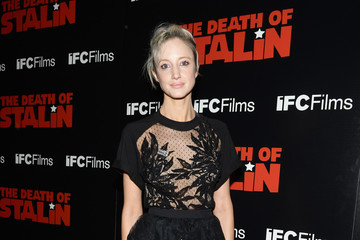 Andrea Riseborough Premiere Of IFC Films' 'The Death Of Stalin' - Arrivals