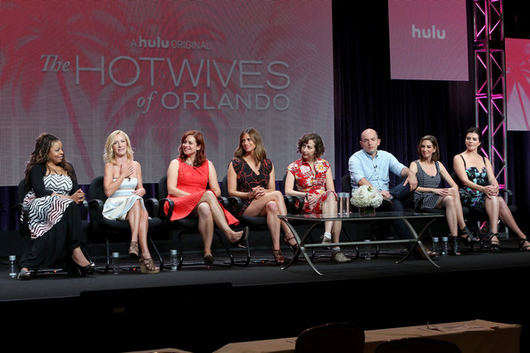 Andrea savage pictures hulu s tca presentation and cocktail party
