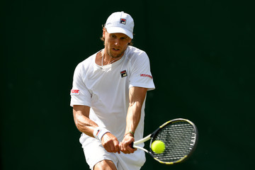 Andreas Seppi Day One: The Championships - Wimbledon 2017