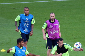 Andres Iniesta Previews - UEFA Champions League Final