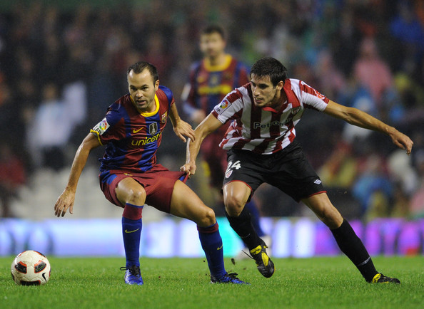 Andres Iniesta Photos Photos - Athletic Bilbao v Barcelona ...