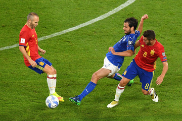 Andres Iniesta Italy v Spain - FIFA 2018 World Cup Qualifier