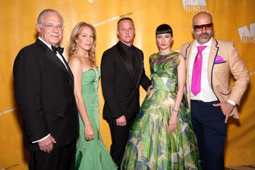 Andres Levin William A. Haseltine Arrivals at the El Museo's Gala