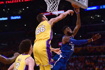 Andrew Bogut Los Angeles Clippers v Los Angeles Lakers