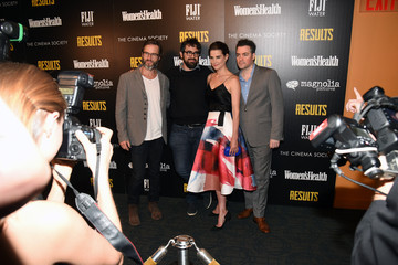 Andrew Bujalski The Cinema Society With Women's Health & FIJI Water Host a Screening of 'Results'